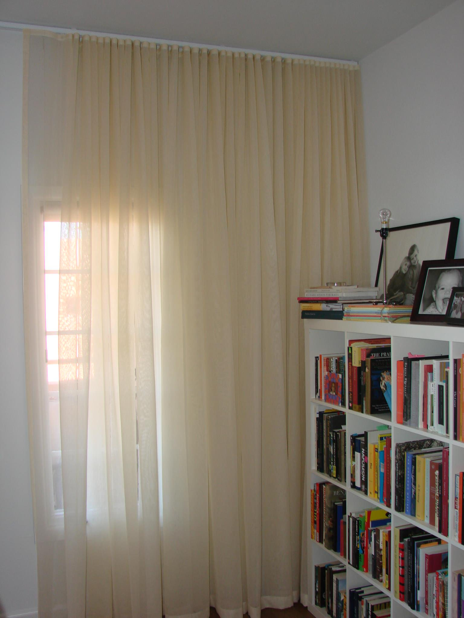 Ceiling Mounted Traverse Rod Houzz