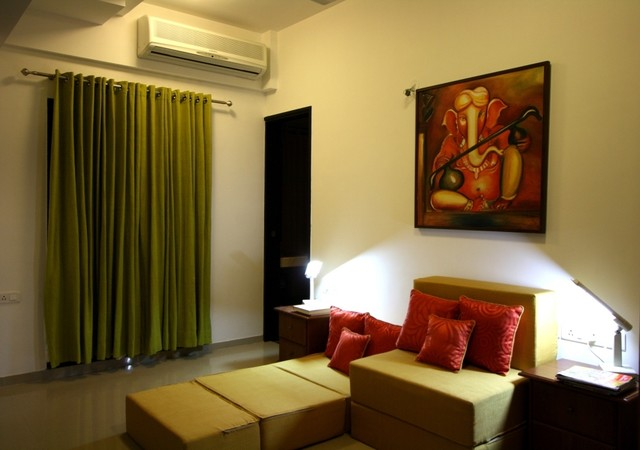 Shiv Kumar House Contemporary Family Room Other