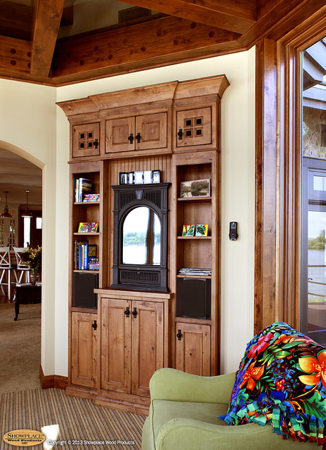 Showplace Cabinets - Family Room traditional-family-room