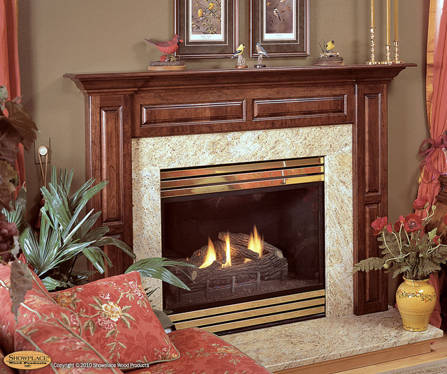 Cabinets And Fireplace Surrounds: Fireplace Surround Traditional-family