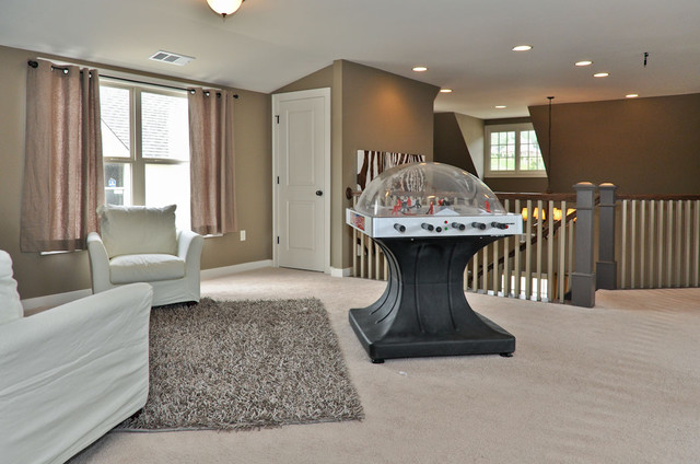 Signature Homes Game Room at James Hill in Ross Bridge home-theater