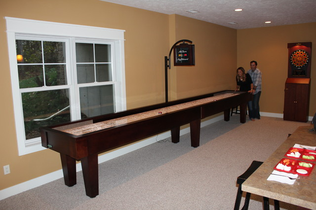 Sloan Shuffleboard Tables   Traditional   Family Room ...