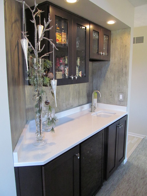 Small Bar Remodel contemporary-family-room