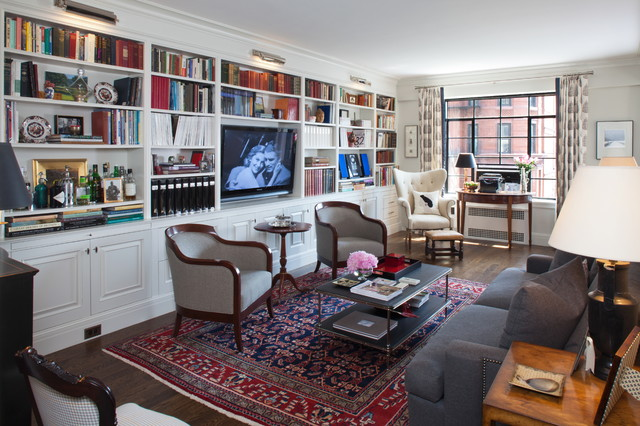 Small Bespoke In Brooklyn Heights Traditional Family Room New York By