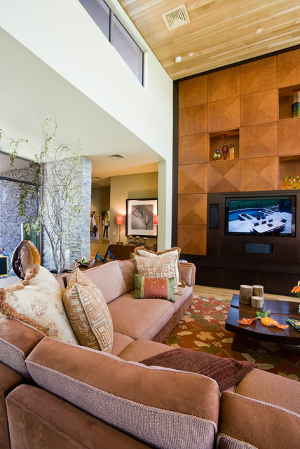 Smith Residence contemporary-family-room