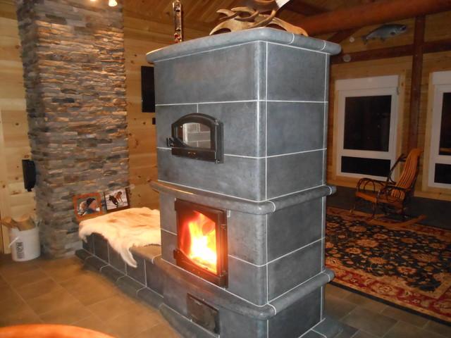 Soapstone Masonry Heater: Soapstone Masonry Fireplace