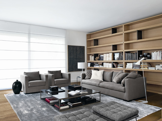 Sofa 00543 Modern Family Room Philadelphia By Usona