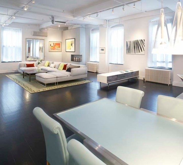 Soho Loft contemporary-family-room