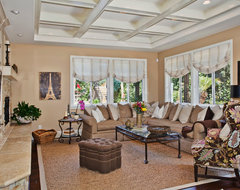 Solana Beach traditional family room