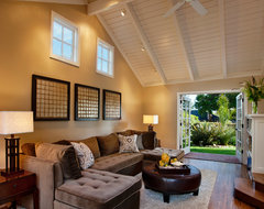 Sophisticated Family Room contemporary-family-room