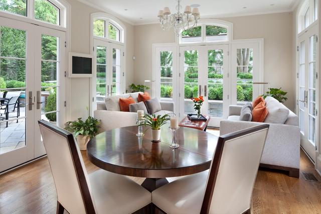 Sorento Design Project Washington DC - Traditional - Family Room - DC Metro - by Morgan Howarth ...