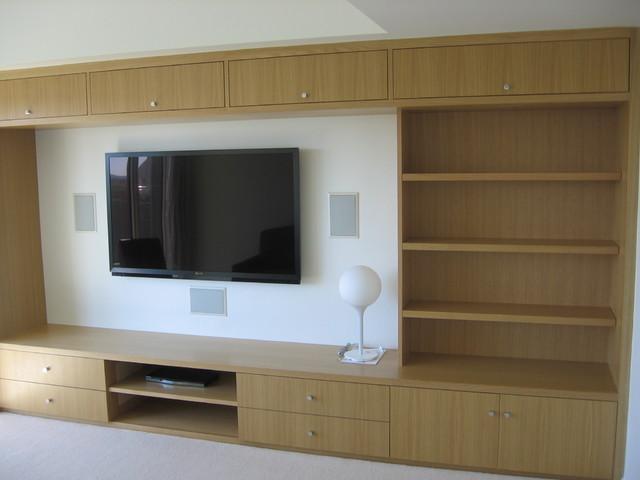 South End Contemporary contemporary-family-room