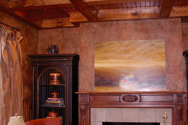 South Park traditional-family-room