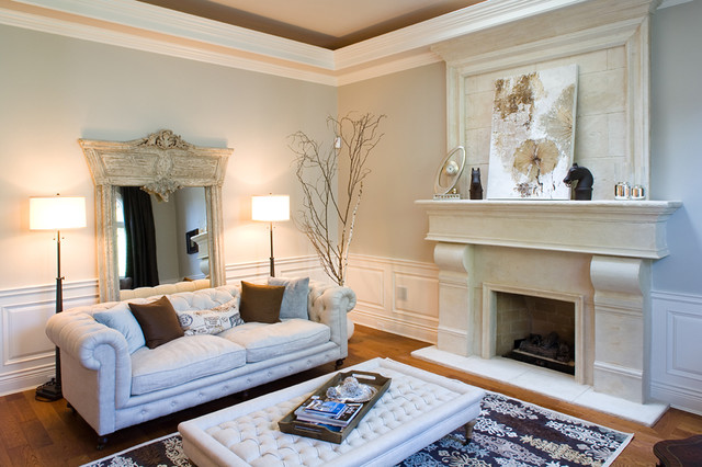 South Surrey contemporary family room