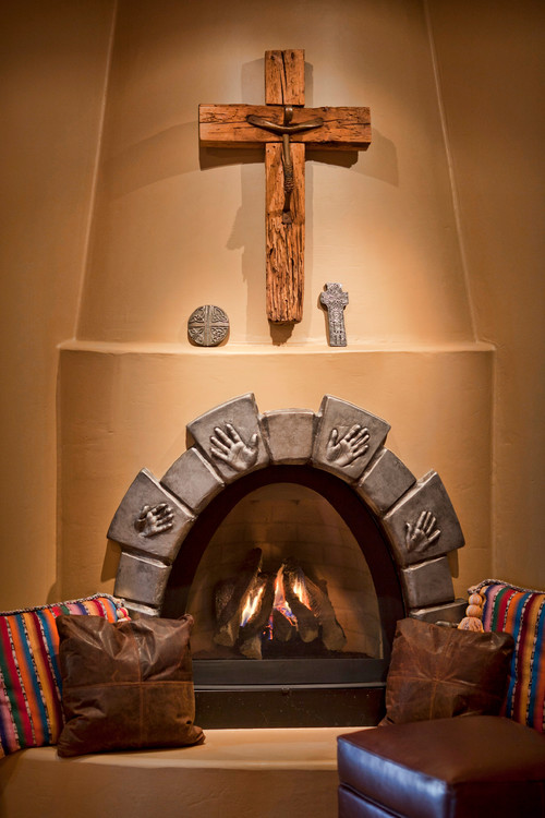 Is this a custom kiva fireplace or a prefab kiva if for Kiva fireplaces
