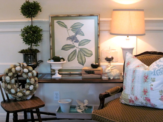 Spring Vignette #2 eclectic-family-room