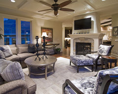 Spur Road - Edina, MN traditional family room