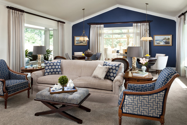 StarrMiller Interior Design, Inc. traditional family room