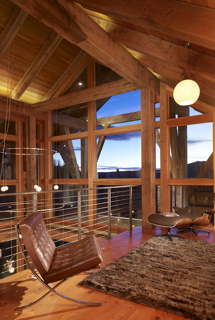 Steamboat Springs Residences rustic-family-room