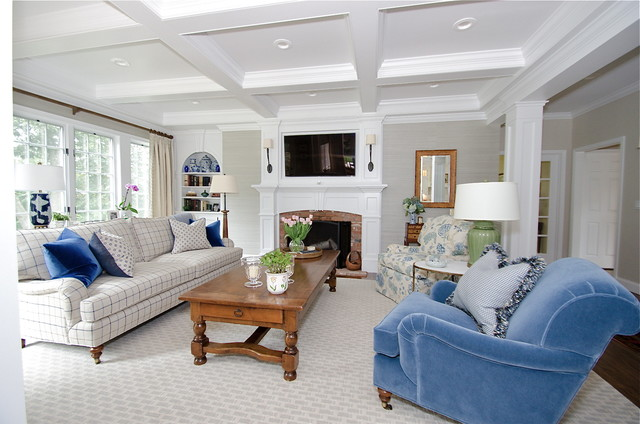Steep Hollow Road traditional-family-room