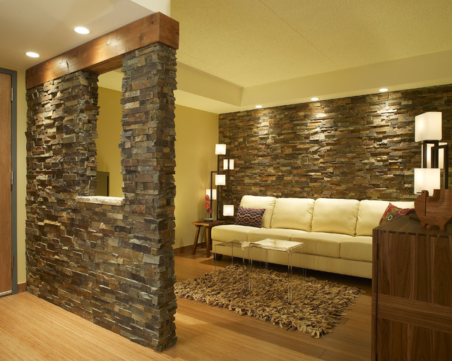 ... Contemporary - Family Room - other metro - by Gavin Design-Build Inc