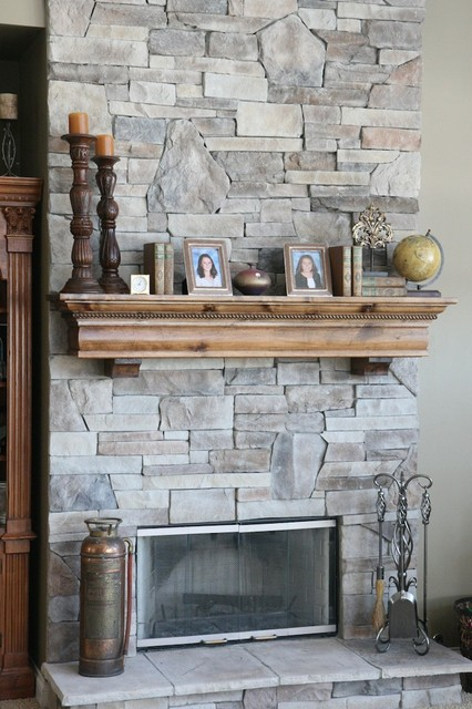Fireplace Mantels - Modern - Living Room - charlotte - by IMPACT ...