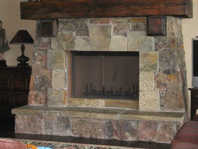 Salt Lamps Ellijay Ga : Stone work Interior - Traditional - Family Room - salt lake city - by Warren Stone Masonry