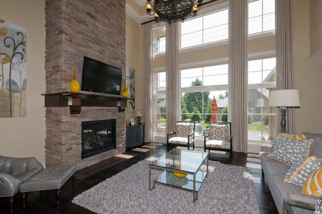 Stonebridge project traditional-family-room