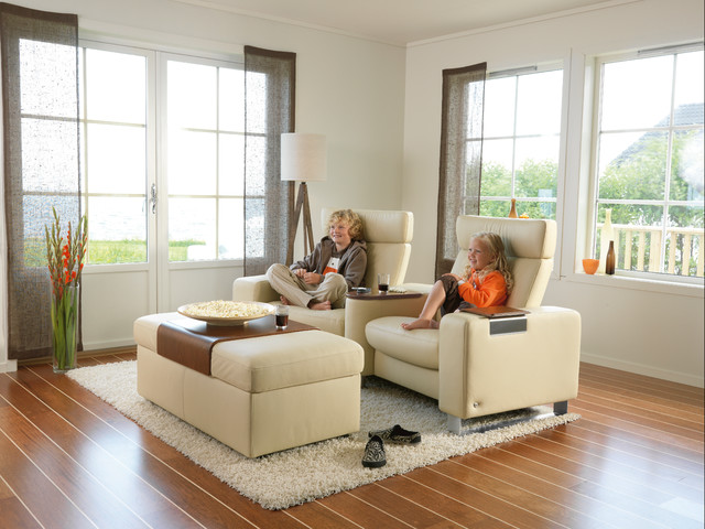 Stressless by ekornes chairs recliners sofas imported for Family lounge furniture