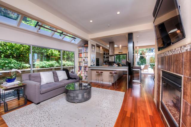 Stunning Sausalito Contemporary contemporary-family-room
