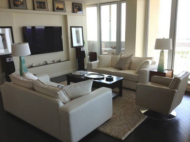 Stylus Sofas Multiple Spaces Transitional Family Room