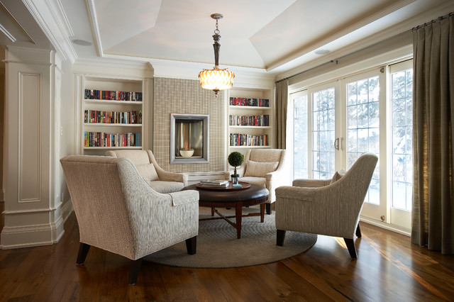 suburban bliss traditional family room toronto by parkyn design