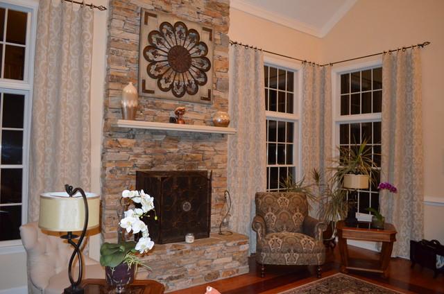suburban maryland home traditional-family-room