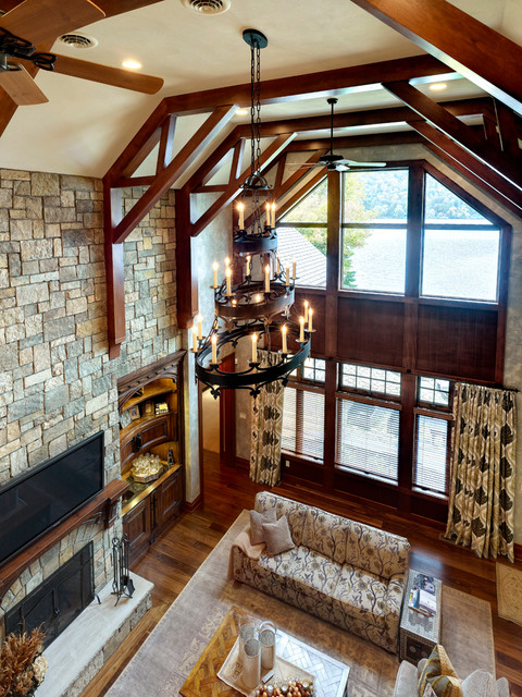 Summer Home traditional-family-room
