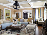 traditional family room Houzz Tour: Much to Like About This Traditional Beauty (17 photos)