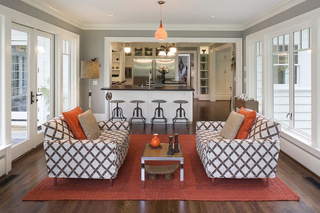 Sun Room Kitchen Eclectic Family Room Portland By Emerick