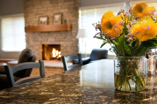 Surrey Ridge Residence eclectic-family-room