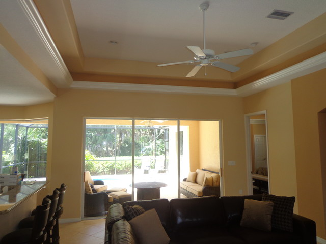 Sw 6113 6114 6115 Modern Family Room Tampa By True