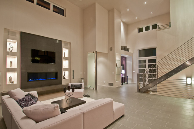 SYNERGY, Great Room & Entry modern family room