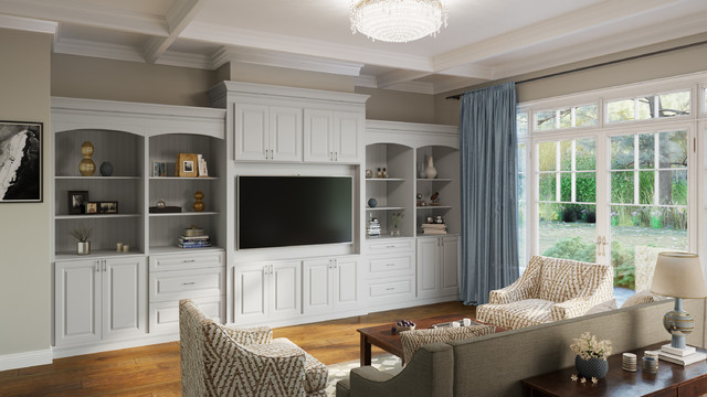 Dove Entertainment Center Cabinets