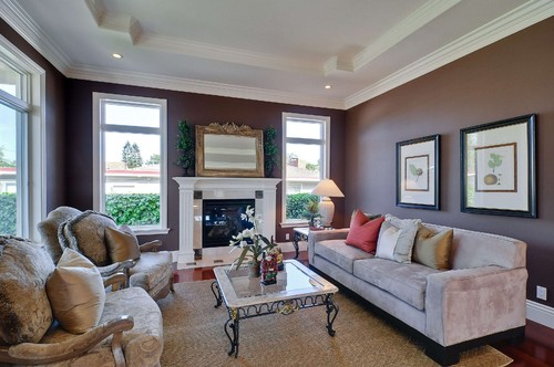 traditional family room Rayco Painting Company Recieves Best of Houzz 2014 Award