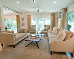 Tarrytown remodel contemporary family room