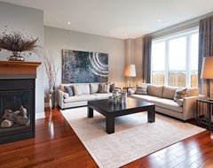 Tartan Homes - Mansfield traditional family room