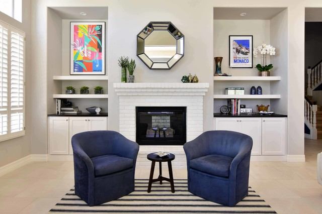Tempe Coventry Custom Home transitional-family-room