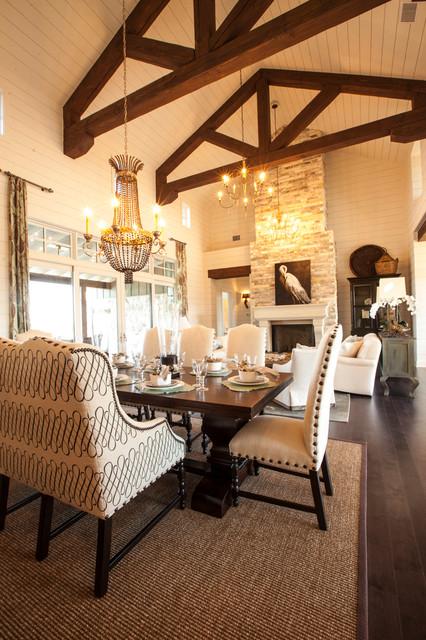 Southern Living Family Room Decor: Texas Southern Living Showcase Home Farmhouse-family-room