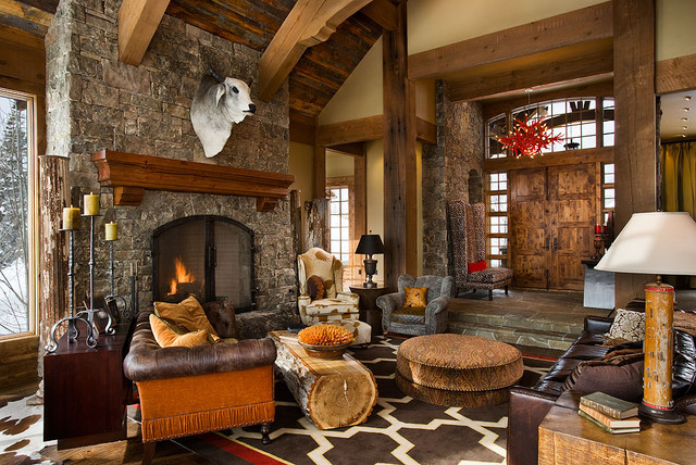 The Bear Trap Interior contemporary family room