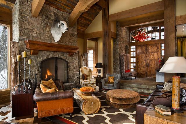 The Bear Trap Interior contemporary-family-room