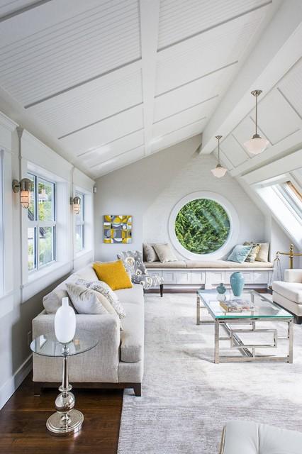 The Birdhouse beach-style-family-room