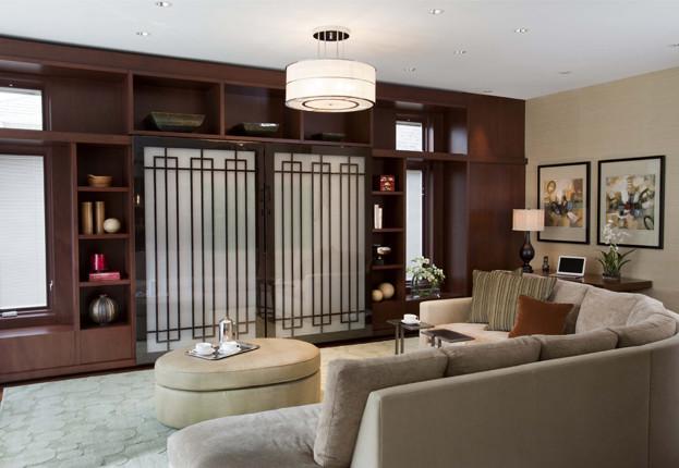 The Breakfast Room, Ltd asian-family-room