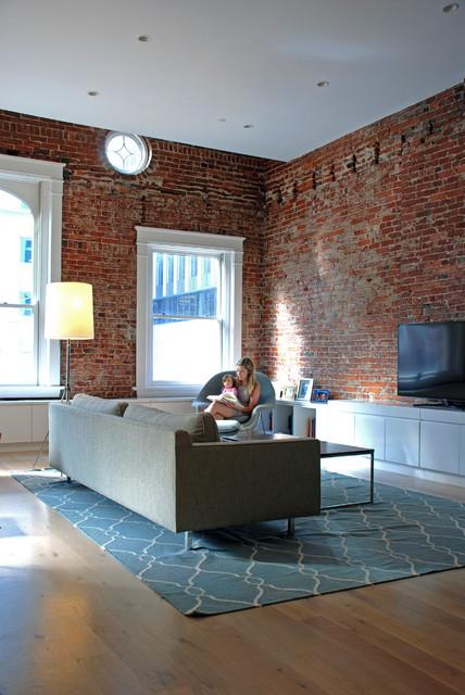The Cohen Loft contemporary-family-room